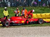 """Leclerc searching for answers after """"tricky"""" F1 FP2 at Spa ends in the barriers"""