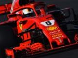 Vettel leads Bottas in morning