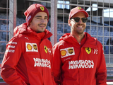 Leclerc bids farewell to Ferrari team-mate Vettel